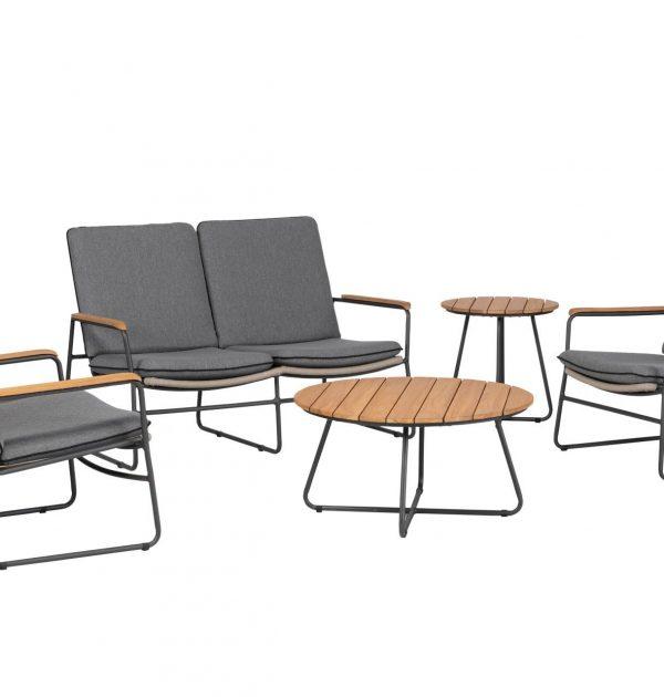 Exotan Gravity stoel- bank loungeset - antraciet