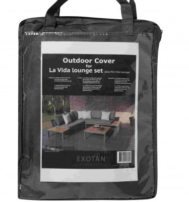 Exotan La Vida / Villa loungesethoes - antraciet