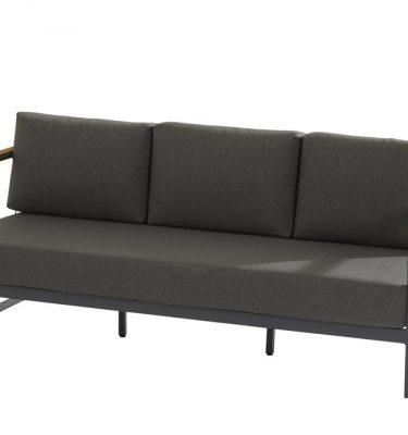 Taste 4SO Montigo loungebank en loungestoelen set van 2 - matt carbon