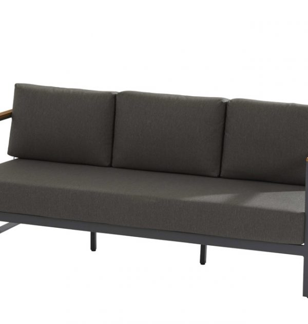 Taste 4SO Montigo loungebank en loungestoelen set van 2 - matt carbon